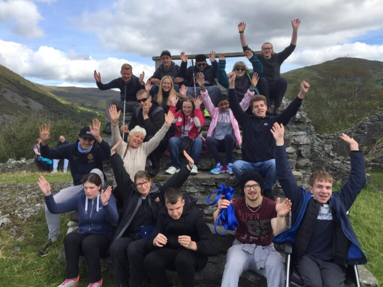 Year 12 group in Snowdonia