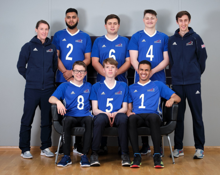 Great Britain under 23 Men's Goalball Team