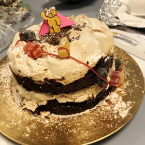 Chocolate Mont Blanc Cake!