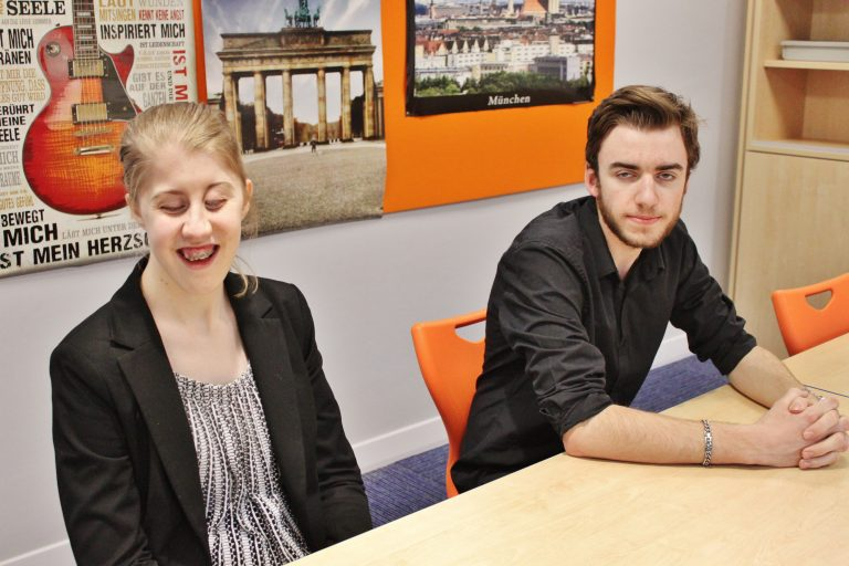 Head Students of 2019/20, Paige and Harvey