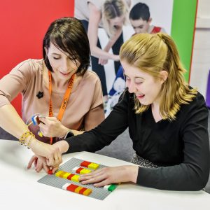 LEGO Braille Bricks being used in Languages