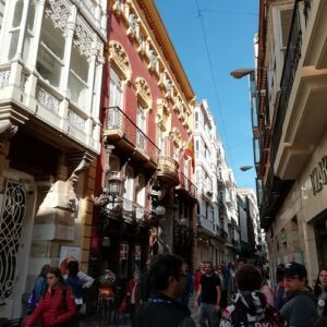 Exploring the streets of Murcia