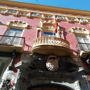 Views of traditional Spanish buildings
