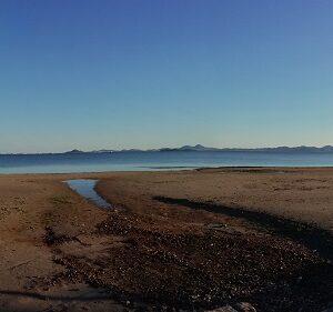 Panoramic of Murcia beach
