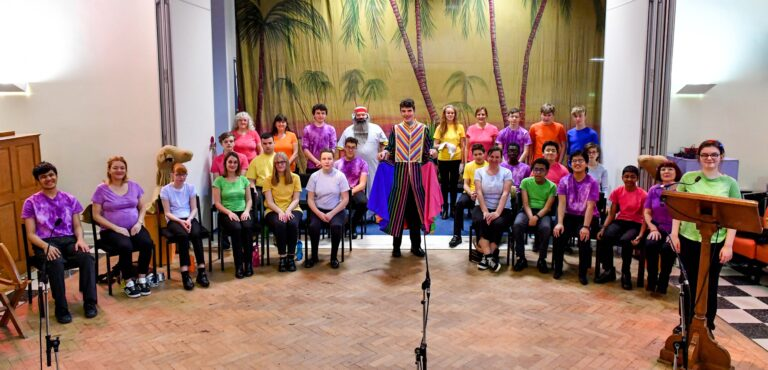 The cast of Joseph at NCW