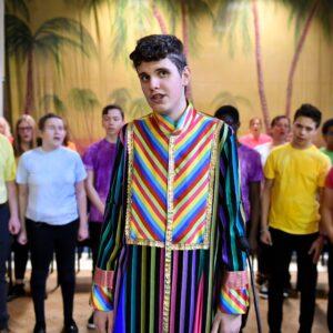 Tobias as Joseph