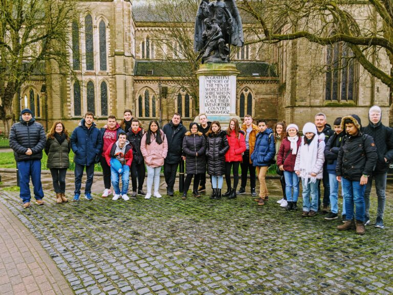 Visiting the Worcester Cathedral