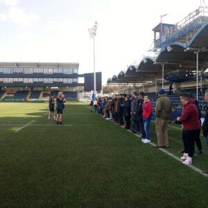 Erasmus trip at Sixways Stadium