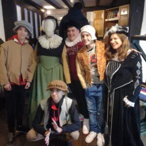 Dressing up at Tudor House!