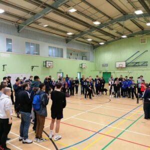 Goalball Tournament in Bristol 2020