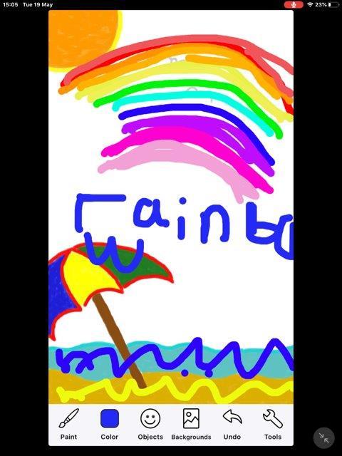 Rainbow colouring