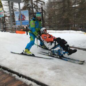 Jack ready to ski