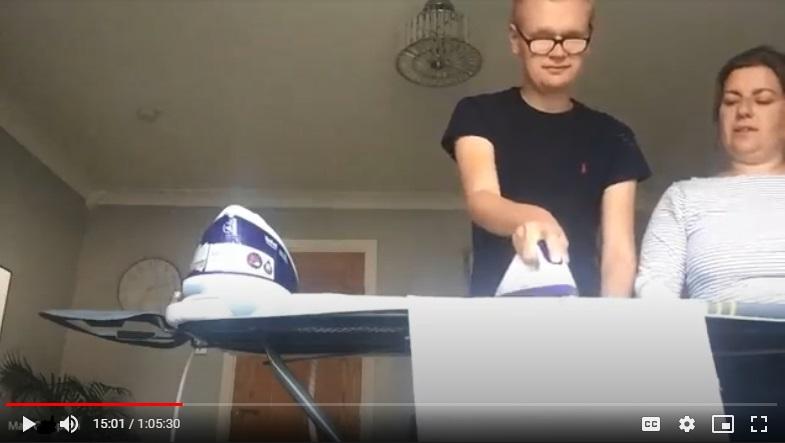 Max ironing