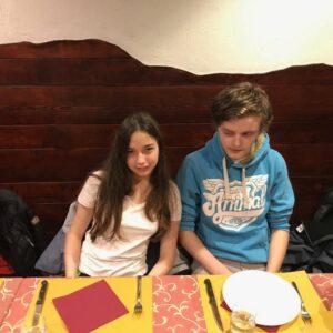 Ciara and Tom
