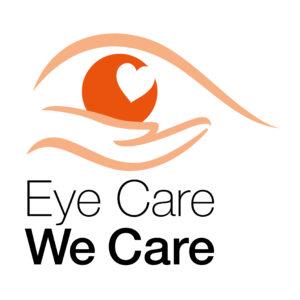Eye Care, We Care logo