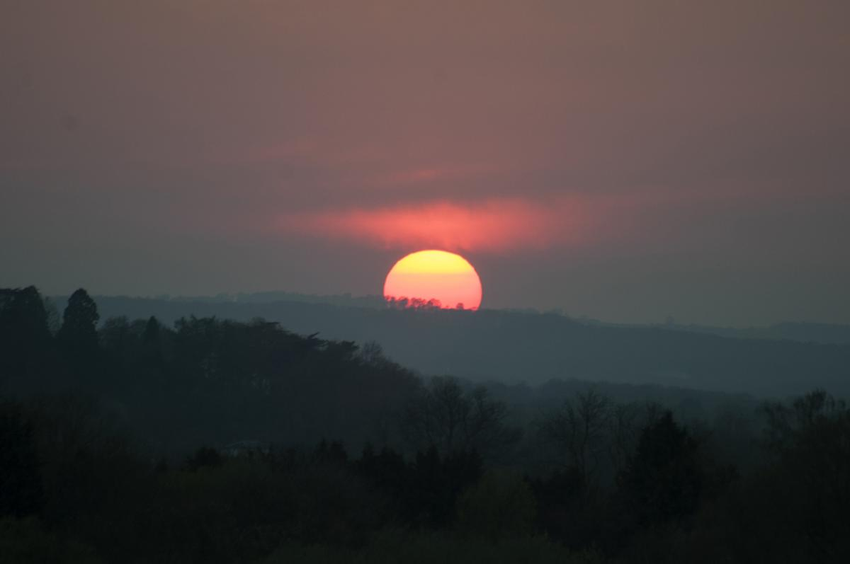 Worcestershire sunset