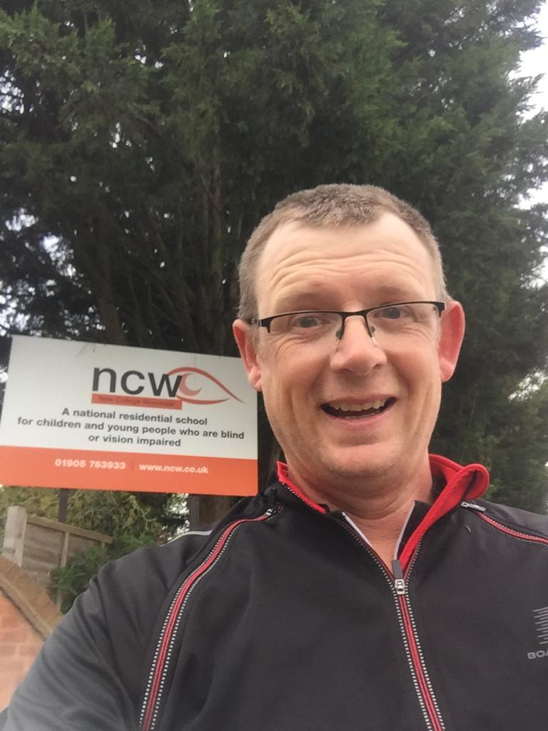 Phil cycled past NCW
