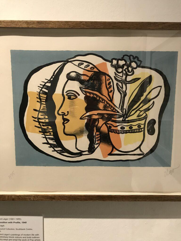 Pop Art Lithograph