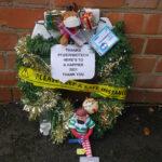 COVID Christmas Wreath