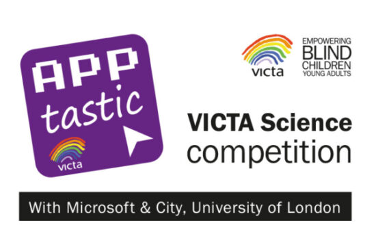 VICTA Apptastic competition logo, as part of the VICTA Science Fair
