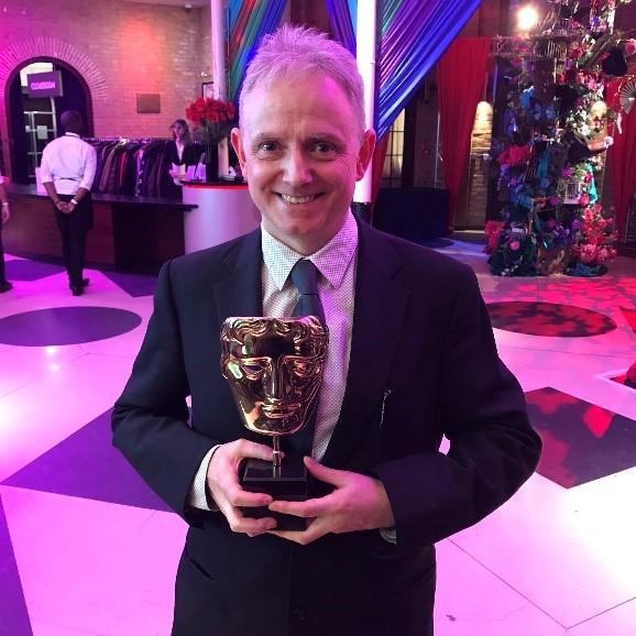 BAFTA winning writer Ben Ward