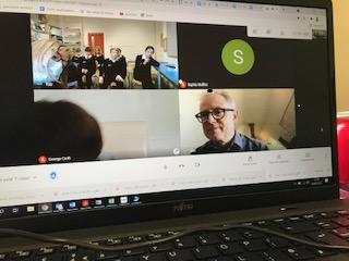 Google Meet video call with Ben Ward!