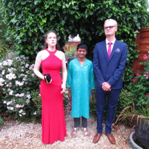 Millie, Sonali and Max looking super smart!