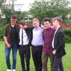 The boys! Ryley, Luke, Ilya, Stan and Asher