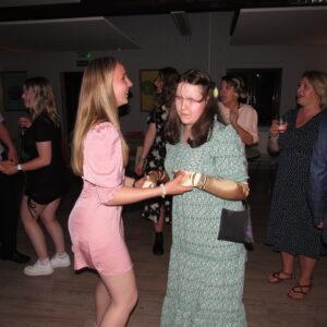 Sophia on the dancefloor