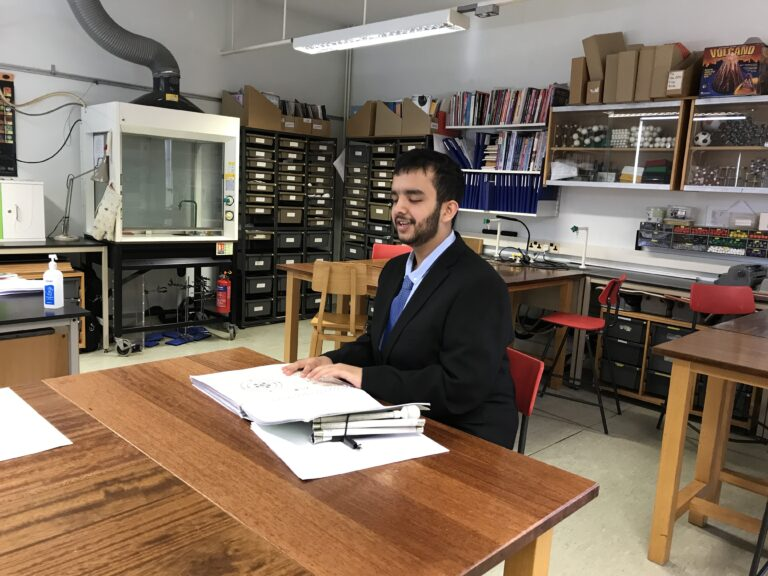 Ahmed sat in Science!